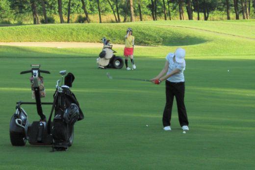 ゴルフ場での利用